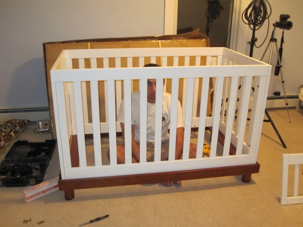 rocking chair cradle combo plans