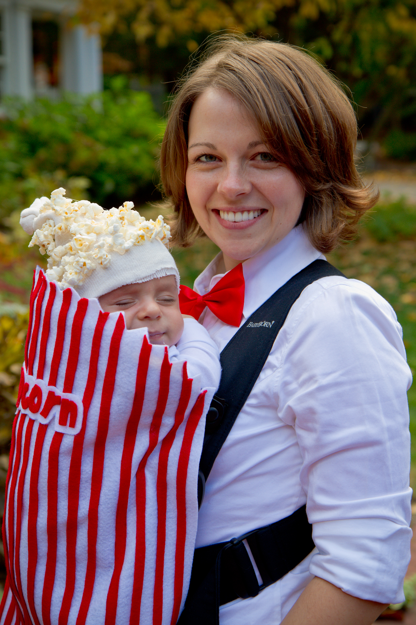 Baby Popcorn Costume by Kate at This Place is Now a Home